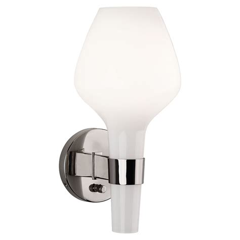 capri wall sconce by robert abbey collectic home