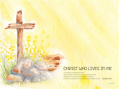 christ  lives   crossmap