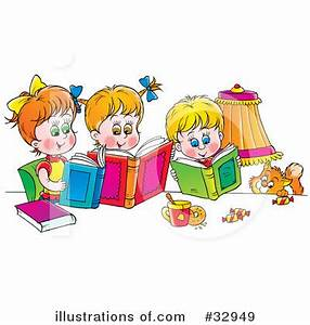 Family Reading Fiesta Clipart | ClipArtHut - Free Clipart