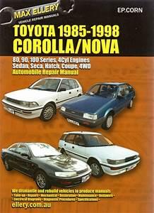 Toyota Corolla 1985-1998 Repair Manual New