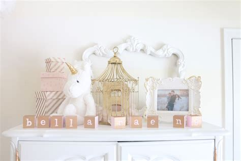 white and gold dreamland nursery project nursery
