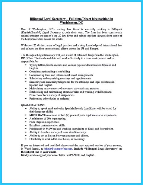 bilingual recruiter cover letter sles