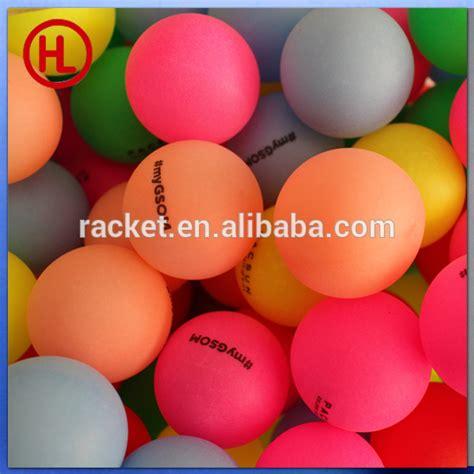 custom logo ping pong table cheap color custom logo ping pong ball table tennis ball