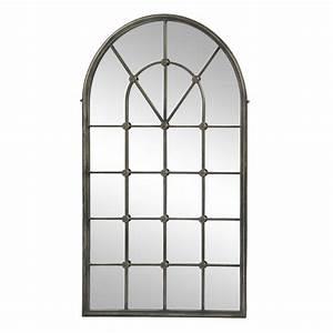 Fenster Mit Rundbogen : spiegel chateau antik metall fenster shabby chic rundbogenfenster landhausstil ebay ~ Markanthonyermac.com Haus und Dekorationen