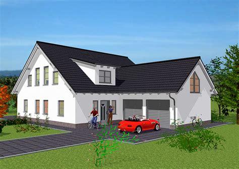 wohnhaus mit integrierter garage haeuser immobilien bau