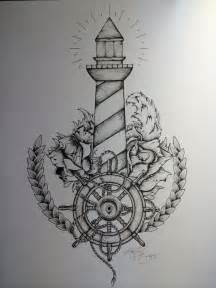 Lighthouse Tattoo Drawings