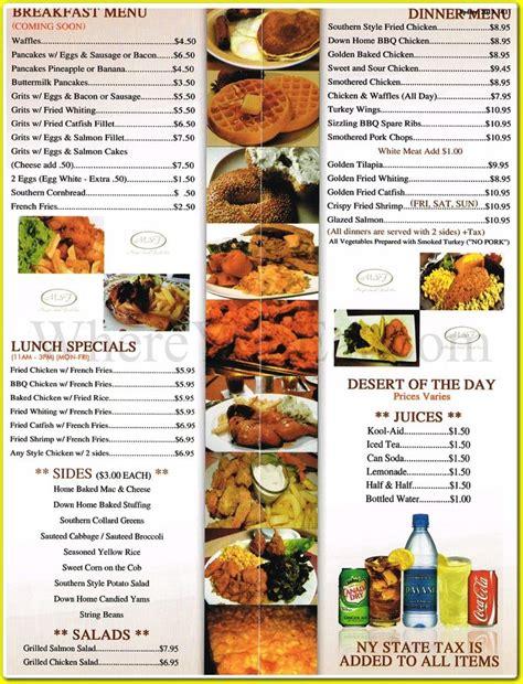 cuisine menu soul food menu magic soul food restaurant in