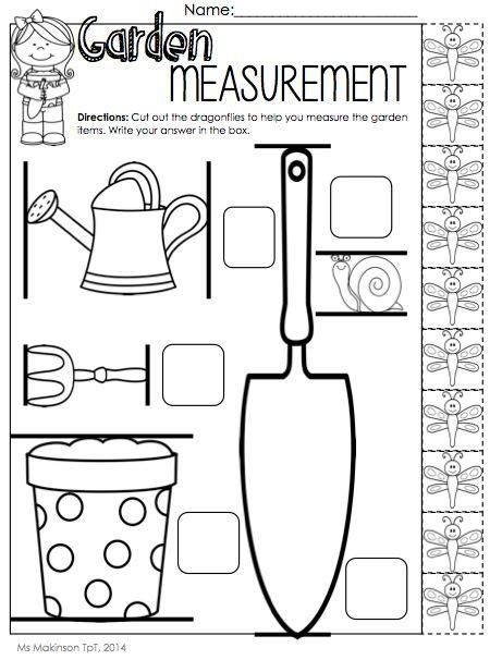 measurement worksheet for pre k worksheets and