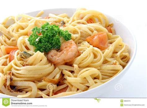 cuisine spaghetti spaghetti with sea food stock photos image 9984373