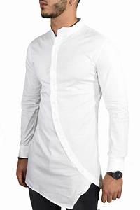 chemise homme blanche ilann five With chemise a petit carreaux homme