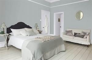 chambre grise et blanche 19 idees zen et modernes pour se With sol gris quelle couleur pour les murs 5 quelle couleur salle de bain choisir 52 astuces en photos
