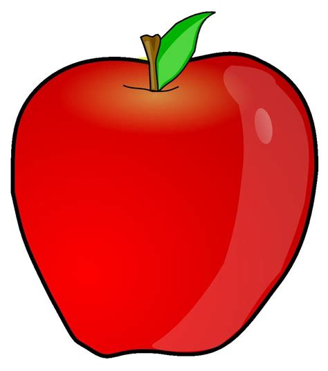 apple clipart best hd apple clip library 187 free vector