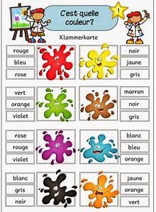 Farben Auf Englisch : ideenreise blog klammerkarten farben f r franz sisch ~ Orissabook.com Haus und Dekorationen