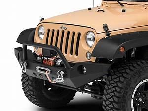 Redrock 4x4 Jeep Wrangler Full Width Front Bumper W