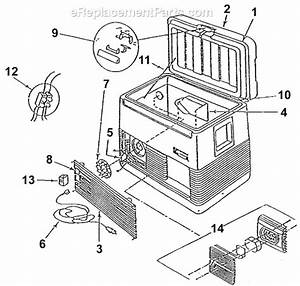 Coleman 5232b807t Parts List And Diagram