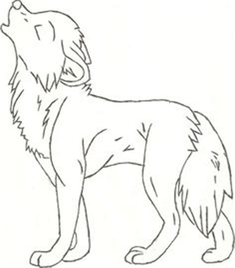 easy  draw anime wolf google search pinteres