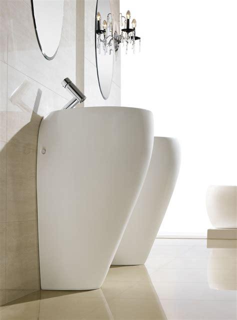 Modern Pedestal Sink  Contemporary Pedestal Sink Cerchio