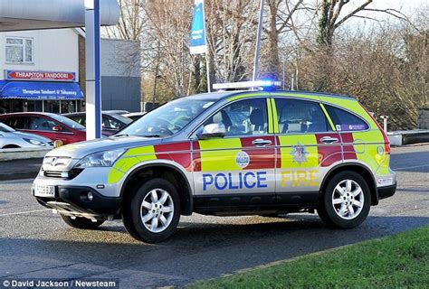 The Police Car That Doubles As A Fire Engine