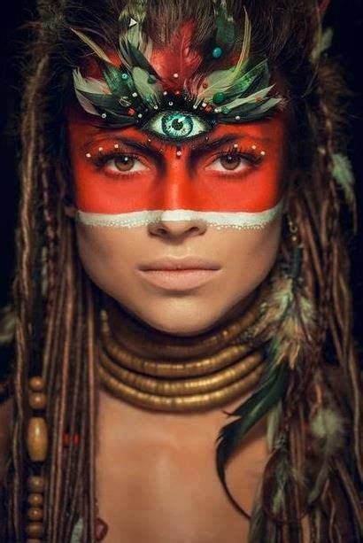 maquillage indien homme maquillage indienne d am 233 rique portraits 하이 패션 예술 그림 et 영감
