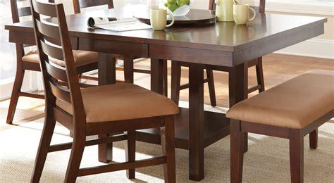 eden dark cherry extendable square dining table  steve
