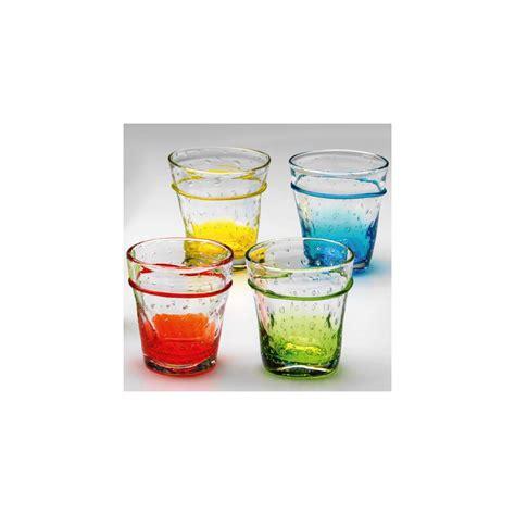 bicchieri acqua colorati bicchiere acqua colorato rosso cl 27 264198 rgmania