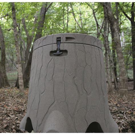 gravity deer feeders trustump 35 gallon gravity deer feeder 676668 feeders