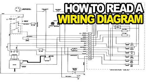 How Read Electrical Wiring Diagram Youtube