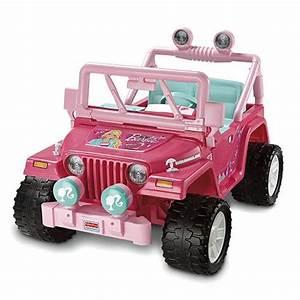 Power Wheels Barbie Jammin Jeep Wrangler Parts