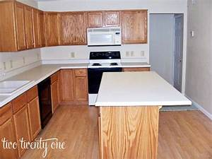 our kitchen before With best brand of paint for kitchen cabinets with cheap hanging candle holders