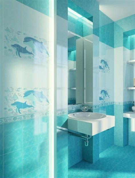 Carrelage Salle De Bain Turquoise by 1001 Designs Uniques Pour Une Salle De Bain Turquoise