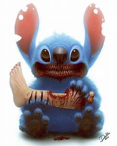 11 Beloved Cartoon Characters Turned Into Terrifying Monsters