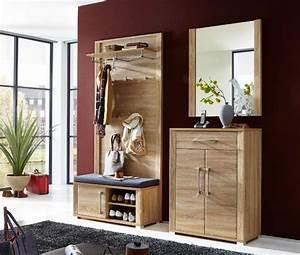 Garderobe Sonoma Eiche : garderobe go 4 tlg paneel bank schuhschrank spiegel eiche sonoma ebay ~ Frokenaadalensverden.com Haus und Dekorationen