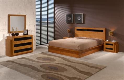 chambre a coucher en bois le sommier du lit pour chambre à coucher archzine fr