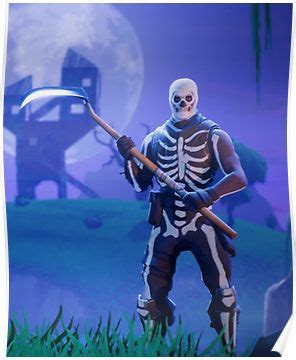 fortnite skull trooper poster products screen
