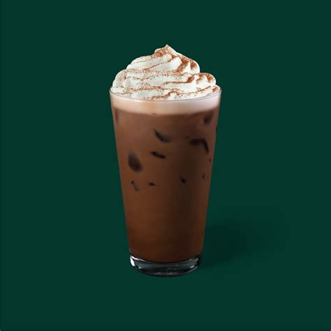 Ice, brewed coffee, classic syrup sugar, water, natural flavors, potassium sorbate, citric acid. Iced Signature Chocolate - Starbucks Thailand