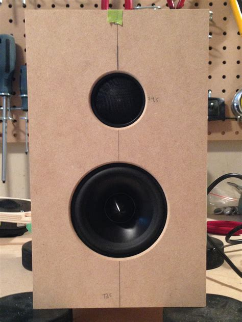 speaker project dayton audio active system  dsp