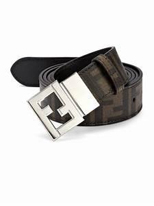 Fendi Reversible Belt in Brown for Men | Lyst