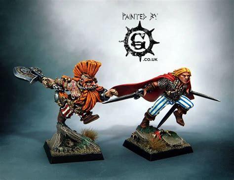 gotrek felix warhammer miniatures fantasy characters special edition dwarfs models workshop aos sci fi sigmar fb limited citadel coolminiornot business