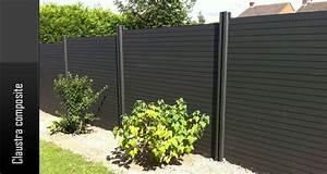 Claustra De Jardin : cloture terrasse composite prix ~ Premium-room.com Idées de Décoration