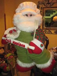 Patrones y Moldes de Santa Papa Noel y renos en Fieltro GRATIS!! (page 1) EcoArtesanias