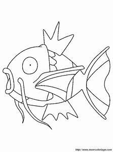 Coloring Pokemon  Page Fish Pokemon