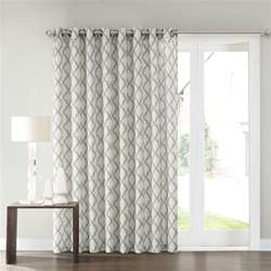 sonoma goods for life dallon patio door curtain 100 x