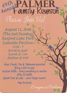 Reunion Invites! | Family reunion invitations, Family ...