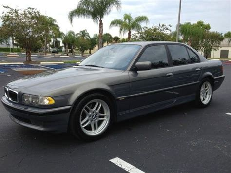 Sell Used 2001 Bmw 740i M Sport Package In Pompano Beach