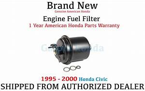 Genuine Oem Honda Civic Fuel Filter 1995