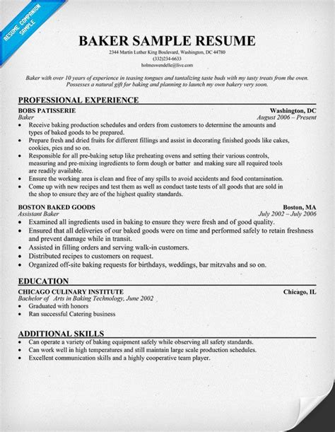 22300 career change resume templates baker resume resumecompanion resume sles