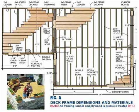 Deck Plans Pdf by Wood Deck Plans Pdf Pdf Wood Display Plans