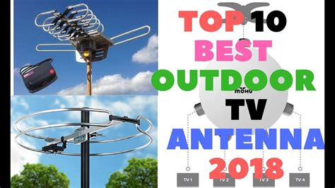 Top 10 Best Outdoor Tv Antenna 2018