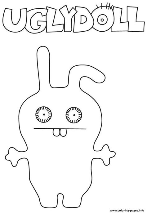 ugly dolls kids  coloring pages printable