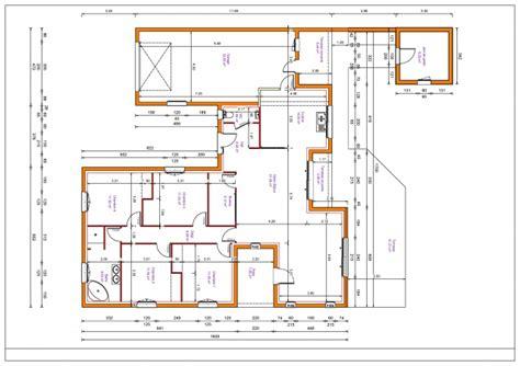 plan maison 3 chambre plain pied plain pied de 130m2 135 messages